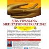 SJBA Vipassana Meditation Retreat 2012