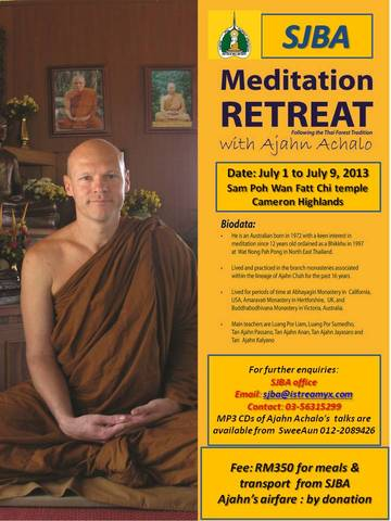 Ajahn_Achalo_retreat