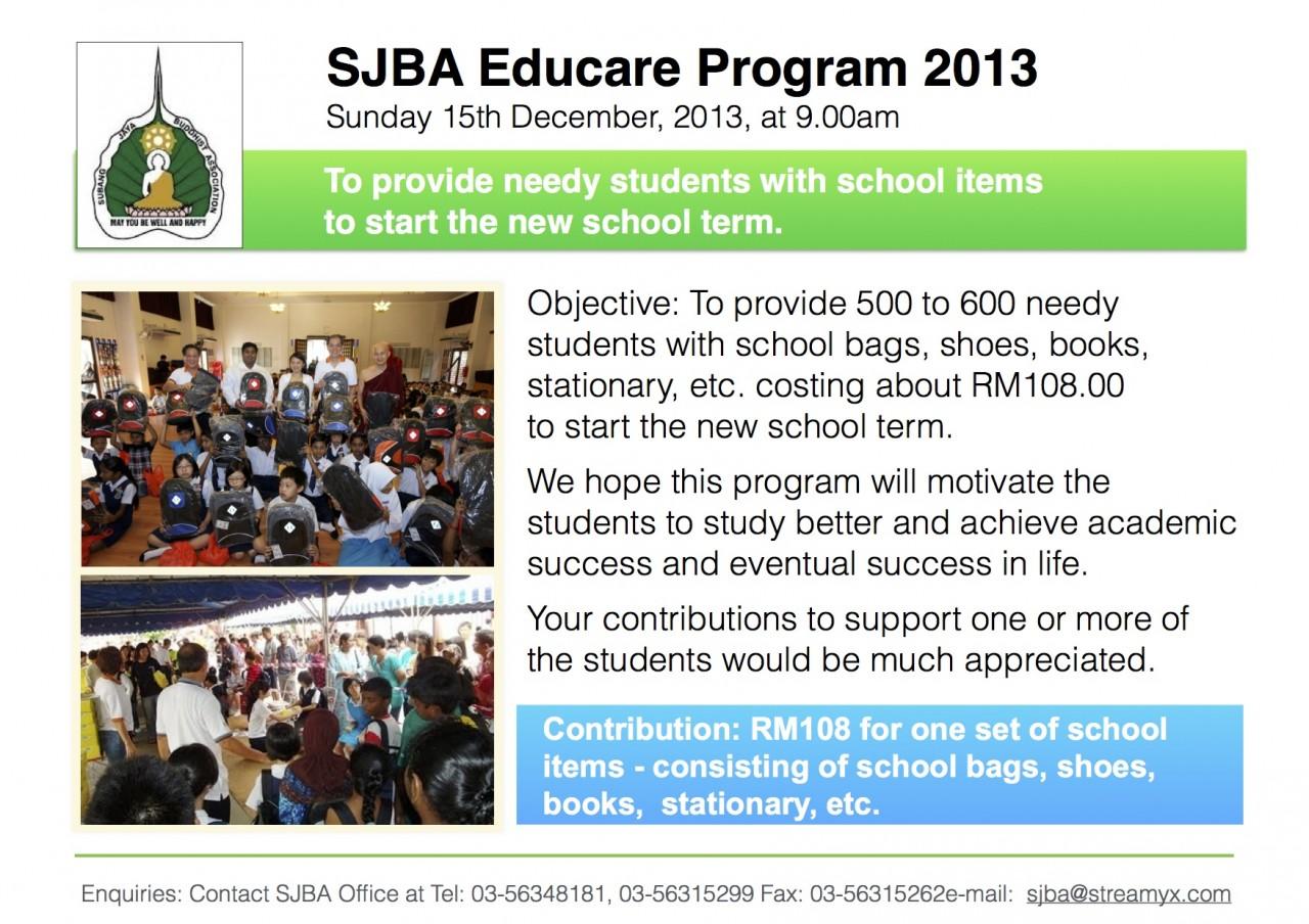 SJBA Educare 2013
